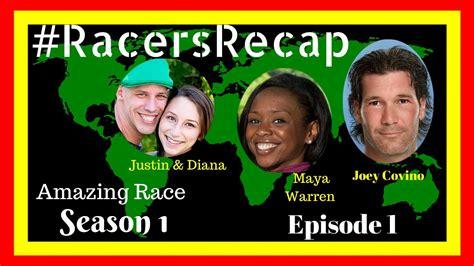 Amazing Race Season 1 Episode 1 #RacersRecap - YouTube