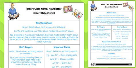 ks editable newsletter template ks editable newsletter