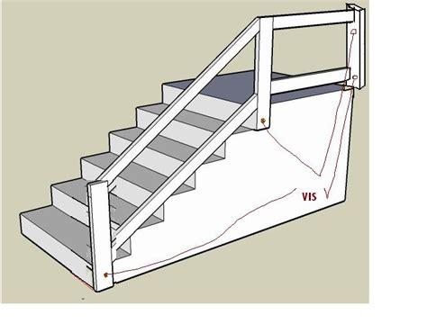 fabriquer une re d escalier fabriquer re escalier forum menuiseries int 233 rieures syst 232 me d