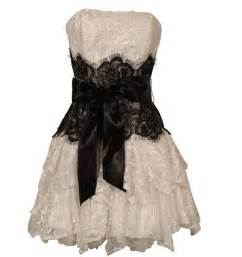 cheap short black and white prom dresses lace prom dress