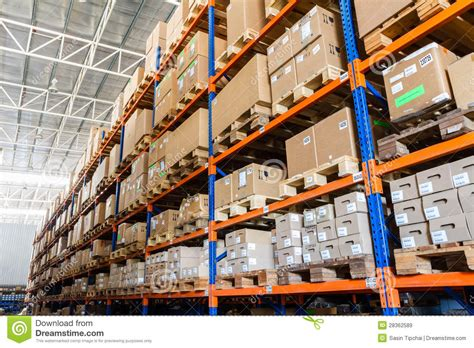large modern warehouse royalty  stock images image