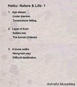 Haiku: Nature & Life- 1 Poem by Ashraful Musaddeq - Poem ...