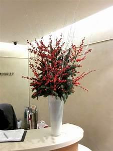 Christmas Flower Arrangement Flowers by Flourish