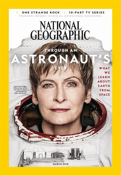 Geographic National March Magazine Astronauts Usa Issue
