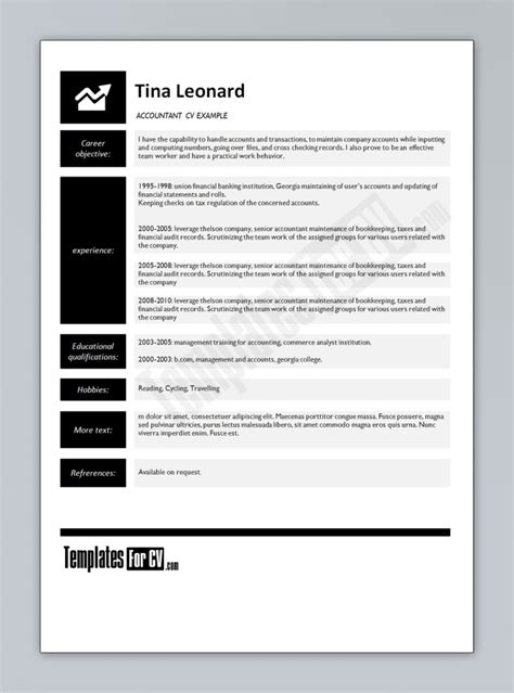 Accounting Resume Template Microsoft Word by 14 Plantillas Editables Originales Para Cv Profesionales