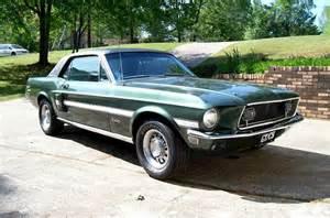 1968 Mustang Highland Green