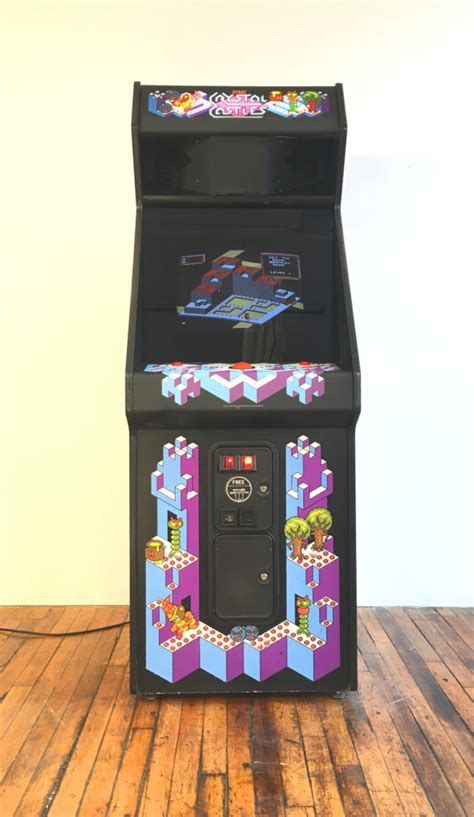 crystal castles video arcade game rental arcade