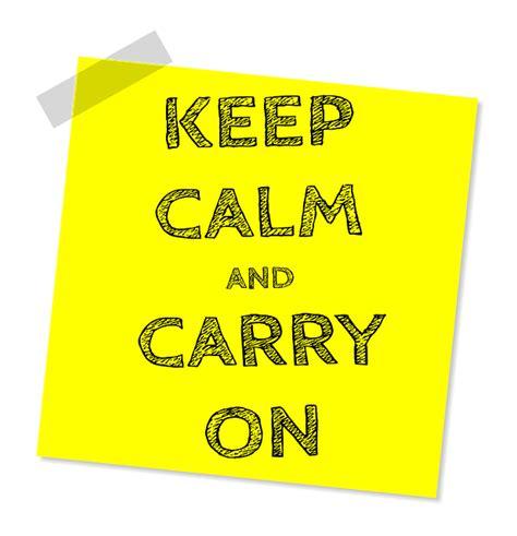 calm  carry  message  image  pixabay