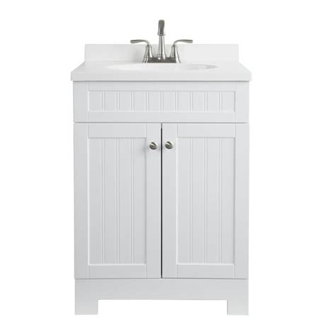 custom vanity top with integrated sink shop style selections ellenbee white integrated single