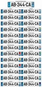 Plaque Immatriculation Voiture : la plaque d 39 immatriculation de l 39 auto ~ Melissatoandfro.com Idées de Décoration