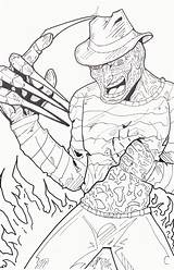 Freddy Coloring Krueger Pages Drawing Jason Printable Colouring Google Halloween Adult Hand Horror Scary Sheets Zoeken Boys Books Drawings Voorhees sketch template