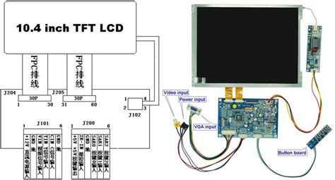 Car Monitor Wiring Diagram by Tft Lcd Wiring Diagram Schematics Wiring Diagrams