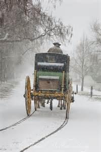 Colonial Williamsburg Winter Snow