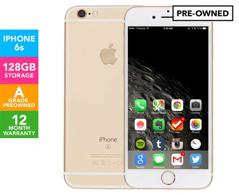 pre owned iphone 6 apple iphone 6s 128gb gold a grade pre owned great