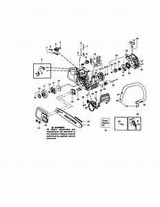 Craftsman Model 358350811 Chainsaw  Gas Genuine Parts