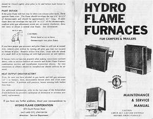 Hydroflame Furnace Manual  Hydro Flame Rv Furnace Manual