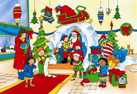 Caillou Christmas Picture, Caillou Christmas Wallpaper