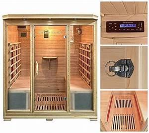 Sauna Für 2 Personen : infrarotkabine 2 personen unsere beiden favoriten im vergleich ~ Orissabook.com Haus und Dekorationen