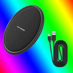 wireless charger qi pad charger data cable kit  samsung