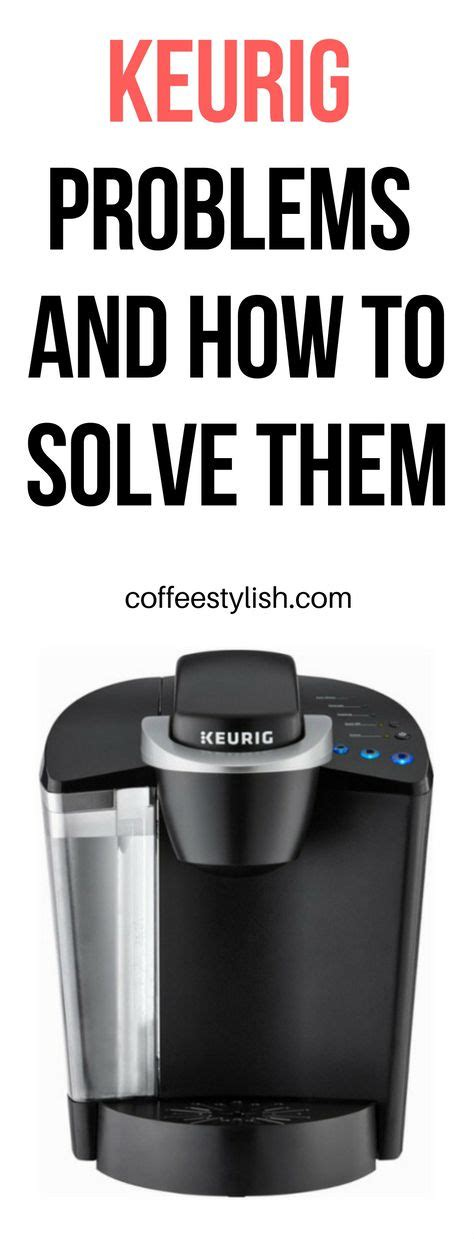 Without both of these used together on the keurig machine the maker won't recognize the carafe cup sizes. KEURIG TROUBLESHOOTING | Keurig won't brew, won't dispense water, Keurig stuck on preheating ...
