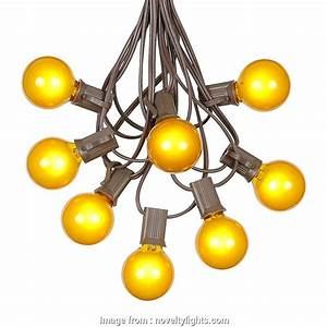 Globe String Lights Brown Wire Nice Picture Of  G40 Globe
