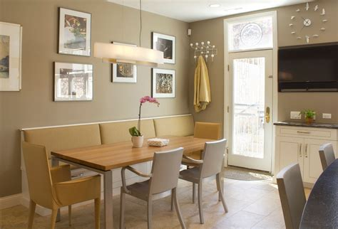 Learn how to build a window seat with storage in your bay window. Kitchen dining area | Bench seating kitchen, Window seat ...
