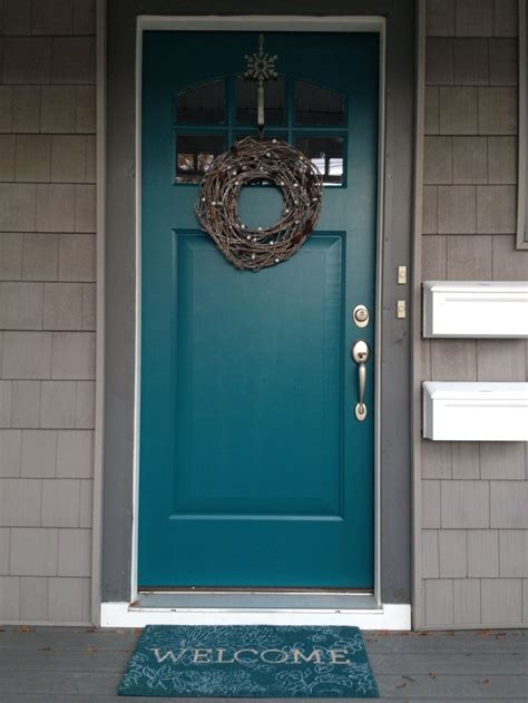 25 best ideas about teal door on teal front