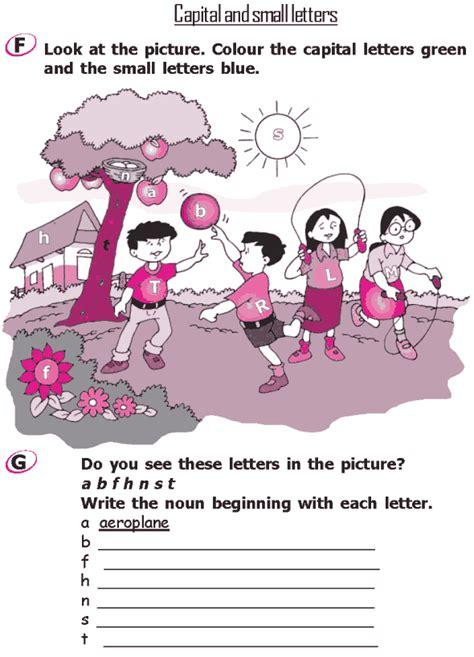 grade 2 grammar lesson 1 the alphabet capital and small
