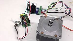 Very Slow Ramping Pulse Generator For Stepper Motor Driver
