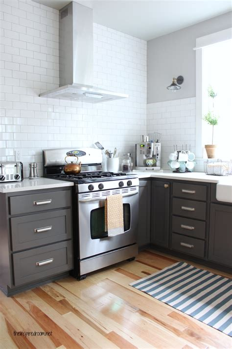 charcoal grey painted kitchen cabinets grey kitchen cabinets and how to pull them traba homes