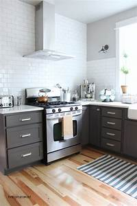 grey kitchen cabinets and how to pull them off 2174