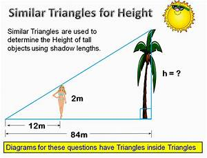 Similar Triangles Applications | Passy's World of Mathematics