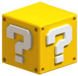 image question block super mario 3d land png