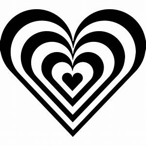 Black And White Hearts Clip Art - ClipArt Best