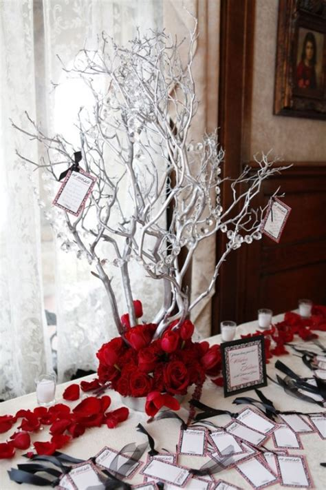 winter branch centerpieces best inspiring winter wedding centerpieces on eweddinginspiration eweddinginspiration
