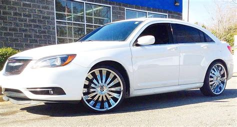 2013 chrysler 200 with 22 quot massiv 919 rims and