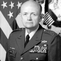 Gen Gordon R Sullivan (left), Army Chief Of Staff, Greets