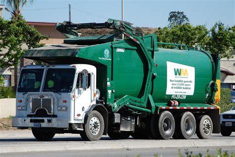 waste management wm truck flickr photo sharing