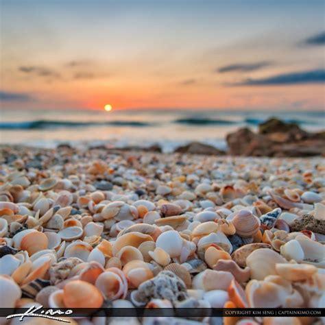 sunrise  shells  beach hdr photography  captain kimo