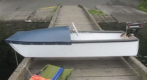 How To Make Small Motor Boat At Home by Mini Pontoon Boat Plans Ftempo