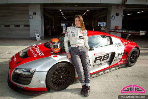 japanese race cars big in japan cyndie allemann to race with hitotsuyama