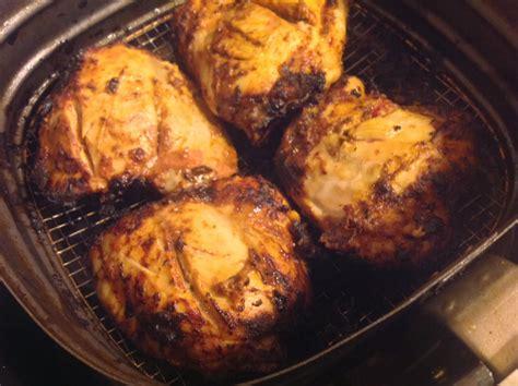 chicken airfryer bake tandoori leg philips mania cook thigh between temperature meat should