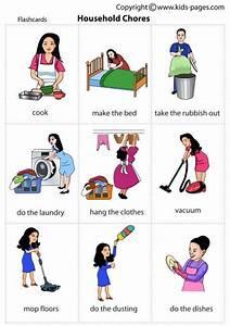 Household Chores English Vocabulary Vocabulary