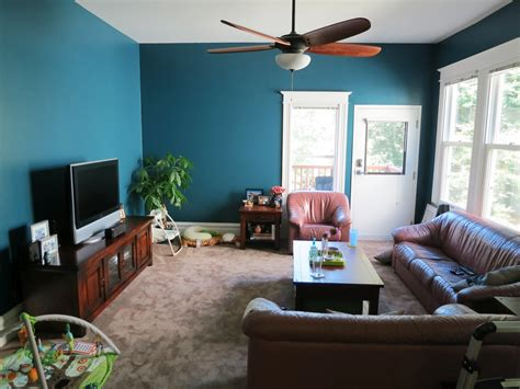 Living Room Teal Brown Ideas And Decorating Splendid