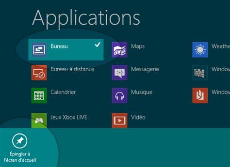 mettre une icone sur le bureau windows 8 comment mettre une tuile raccourci