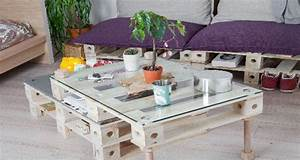 Faire Des Meubles Avec Des Palettes : des meubles en palette transformer comme on veut ~ Preciouscoupons.com Idées de Décoration