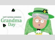 Gorgeous Grandma Day Free Printable 2019 Calendar Templates