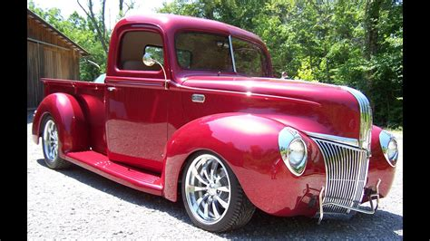 ford pick  street rod youtube