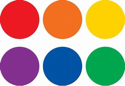 Circles Colorful Markers Carpet Spot