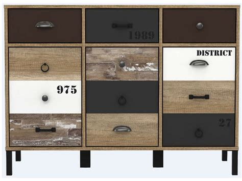 rangement 3 portes 3 tiroirs oldy vente de buffet bahut